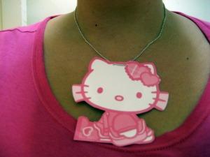 Hello Kitty medallion